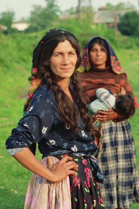 Roma Women From Where La Maison Boheme Folk Color Pattern Gypsy
