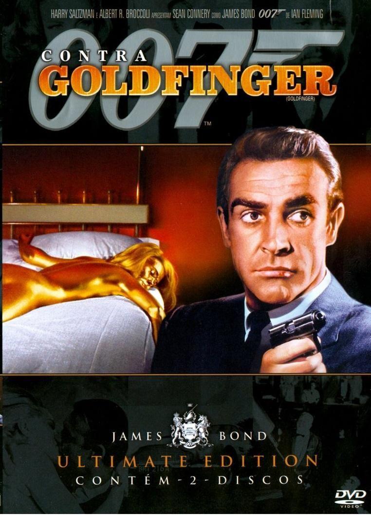007 Contra Goldfinger 1964 Filmes Filmes 007 Cartazes De
