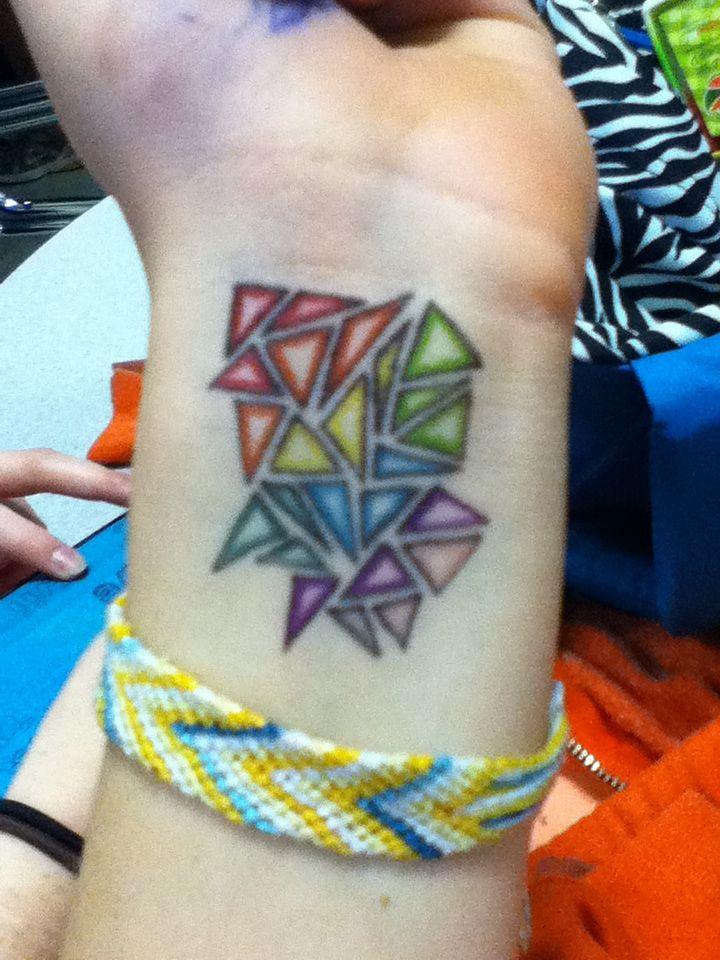 Photo of Mozaic sharpie tattoo