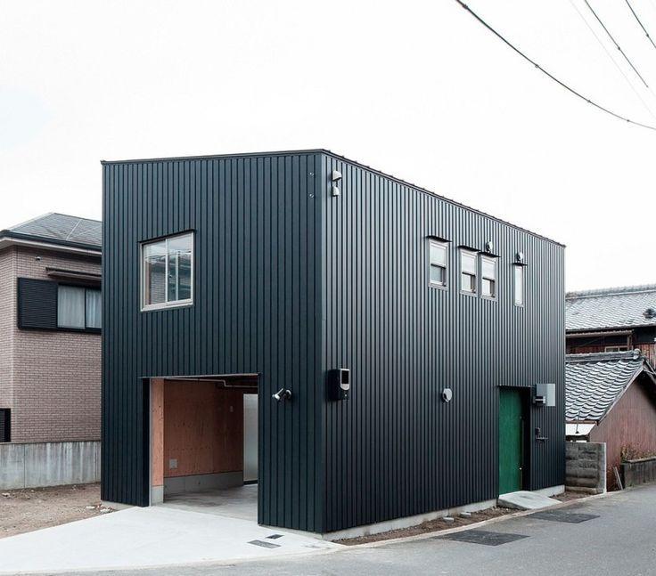 Image Result For Black Metal Building