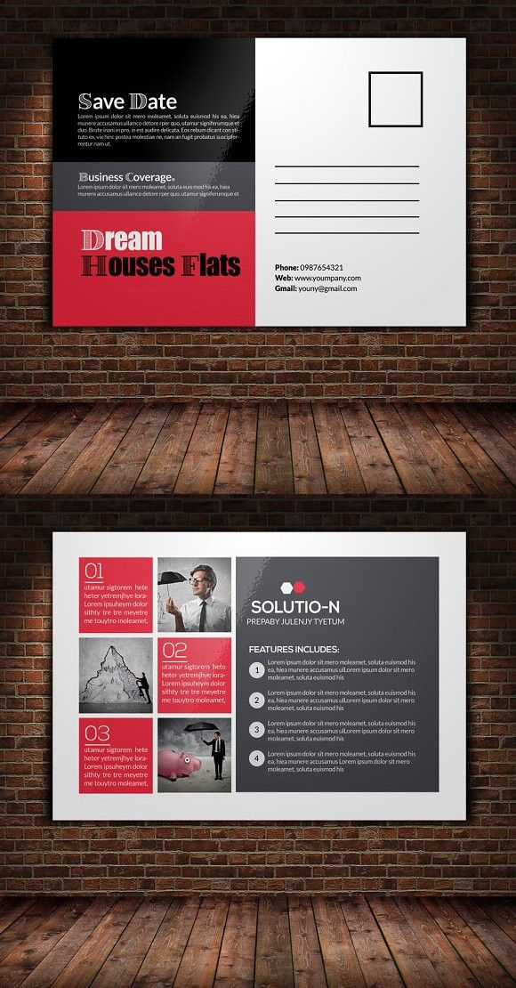 Business postcard template business postcards postcard template business postcard template fbccfo Gallery