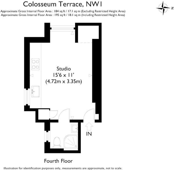 Apartments For Rent In London Uk: Studio Apartment To Rent In Colosseum Terrace, St. John's