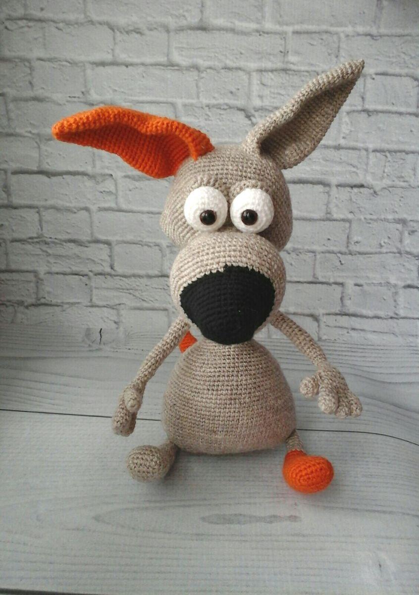 Пес Барбос   игрушки   Pinterest   Amigurumi, Crochet and Toy
