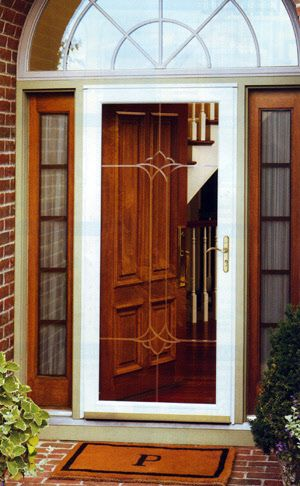 Full Glass Storm Doors Storm Doors Full Screen Features