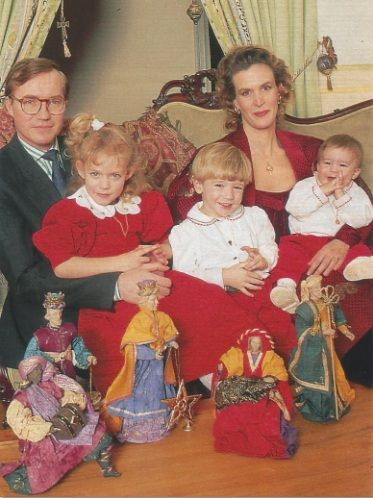 Znalezione obrazy dla zapytania: prince jean of luxembourg and princess helene child
