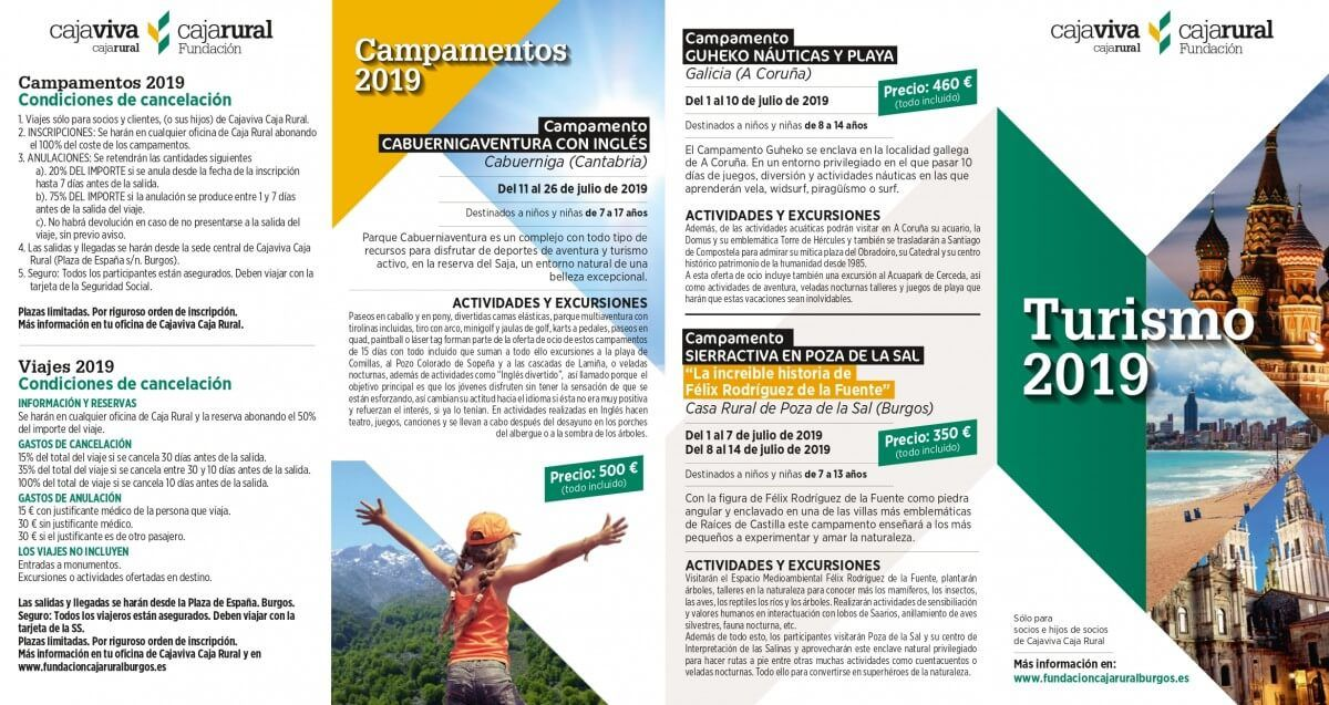 Campamentos De Verano 2019 Cajaviva Fundación Caja Rural Burgos Campamento De Verano Burgos Actividades Acuáticas