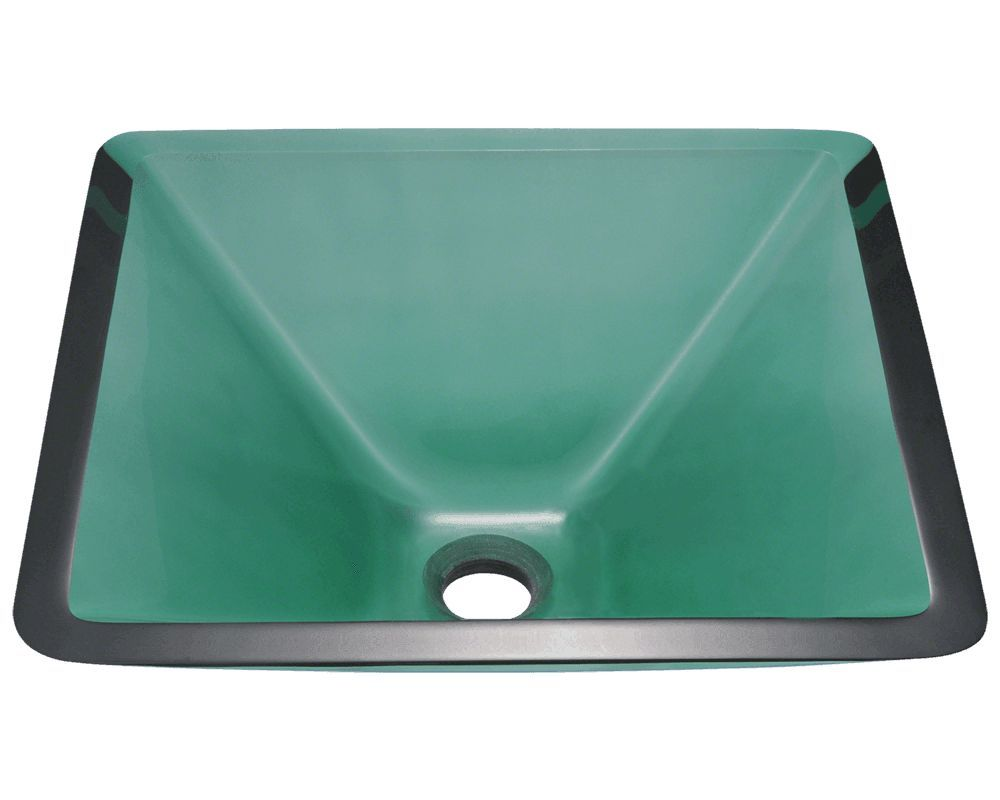 The Square Glass Vessel Sink Is Manufactured Using Fully Tempered Glass.  This Allows For Higher Temperatures To Come In Contact With Your Sink  Without Any