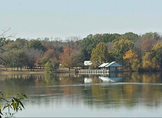 Long Hunter State Park in the fall. I love the walking path here.
