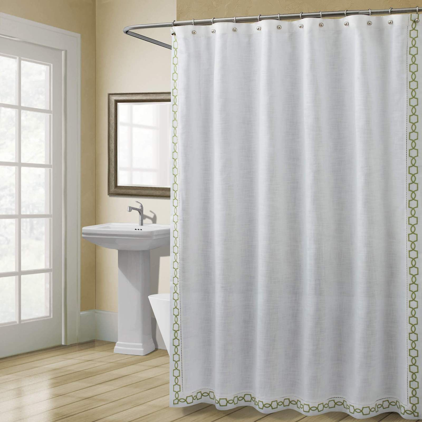 Croscill Shower Curtains How To Choose It In 2020 Stall Size