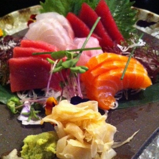 Magnífico sashimi en el Miyama de Castellana (Madrid)