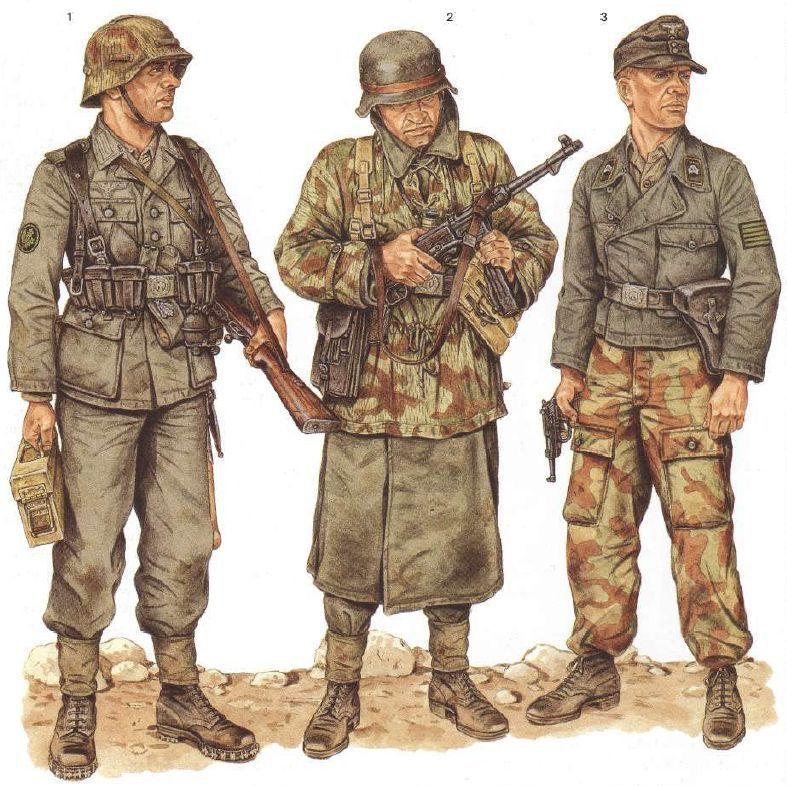 Osprey WW2 Uniform illustrations by Wolfenkrieger on ...