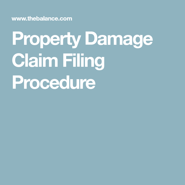 Filing A Claim When You Do Not Know Who Caused The Damage