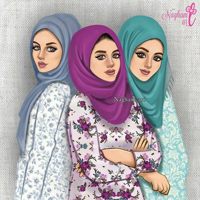 Pin by Nor Syafiqah on Girly Art √ in 2019 Hijab