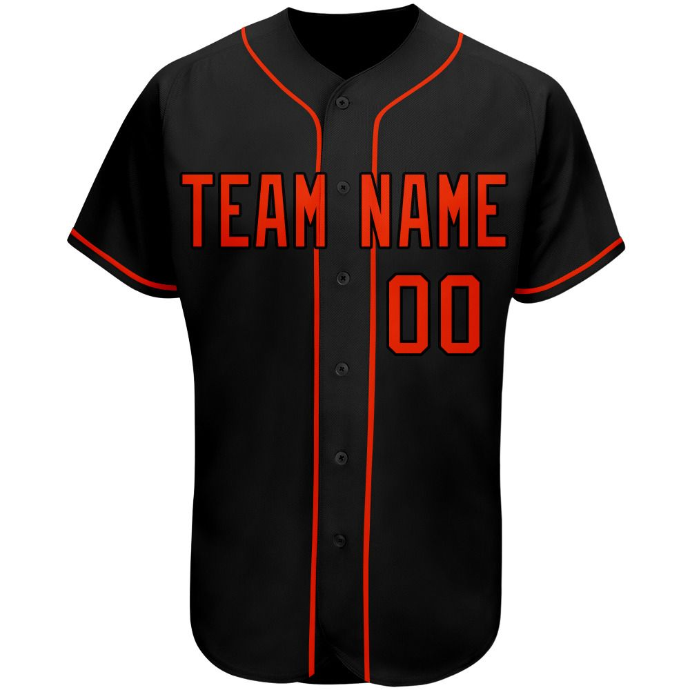 Custom Mlb Baseball Jersey This Is A Black Jersey With Crimson Font Simple And Fashion Cheap And Comfort In 2020 Custom Baseball Jersey Custom Baseballs Custom Jerseys