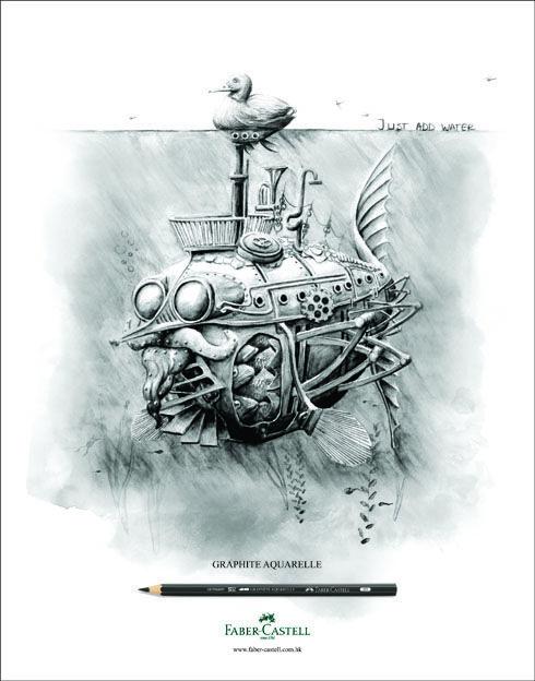 Faber Castell Graphite Aquarelle Individual Pencils Watercolor