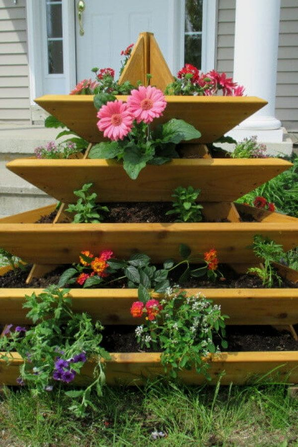 DIY Raised Gardens for your home | Vertical garden design ...