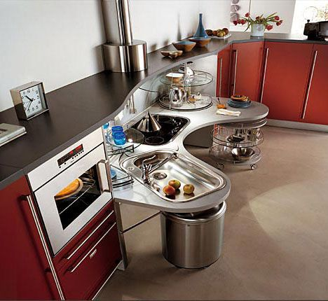 This Skyline Lab Kitchen Is Gorgeous Fully Functional And Wheelchair Accessible
