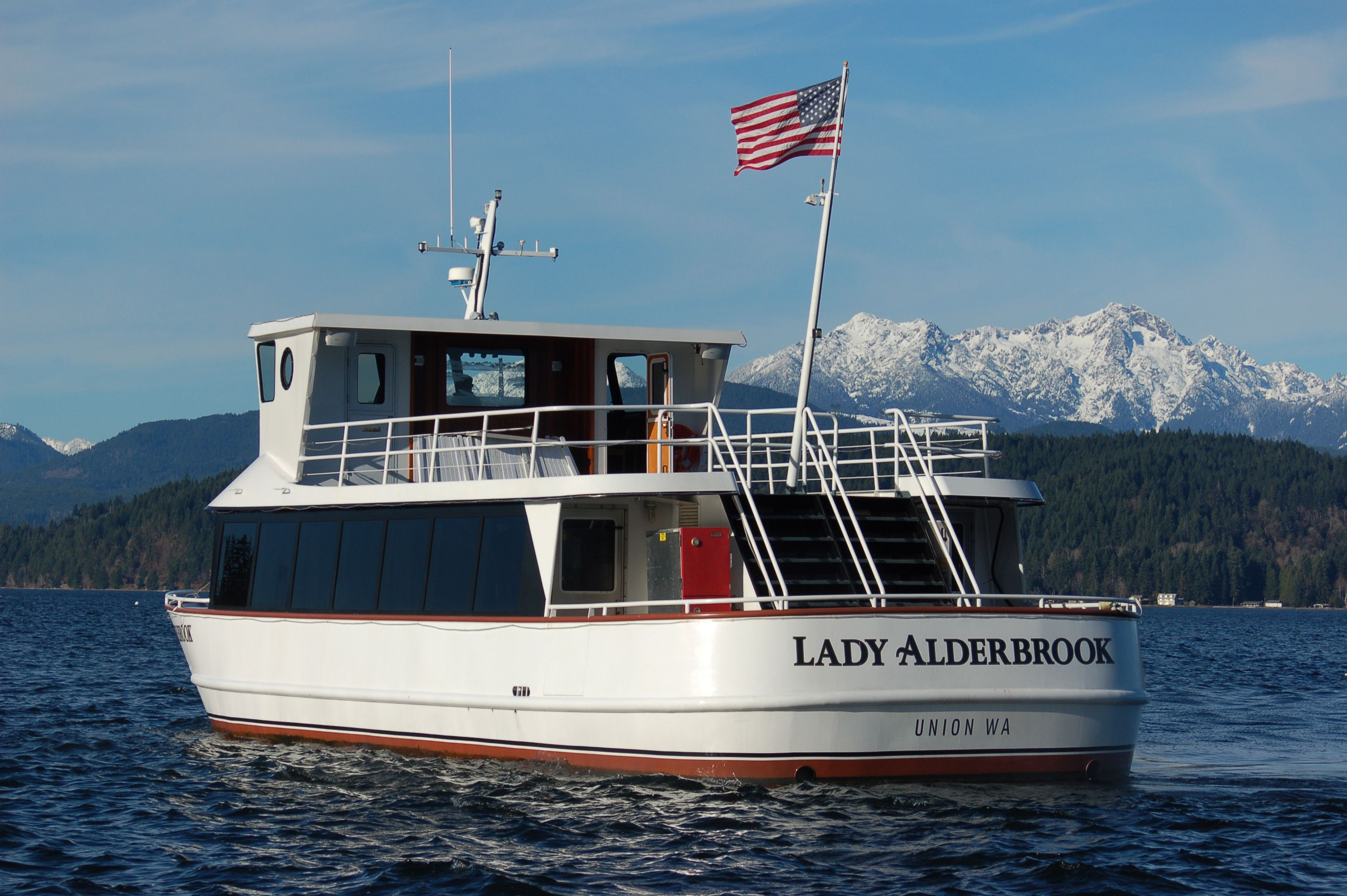 Happy 6th Day of Oyster month!  To celebrate, we're offering complimentary Lady Alderbrook cruises to all overnight guests on Sunday nights in April.  You can watch a family-friendly movie aboard the Lady Alderbrook before dinner!  We'll bring the popcorn, you bring your family and friends.  Lady Alderbrook boards at 5:30PM and returns to our dock at 7PM.  All aboard!  http://www.alderbrookresort.com/area-activities/whats-happening/#ap  #alderbrook #hoodcanal #oystermonth #ladyalderbrook