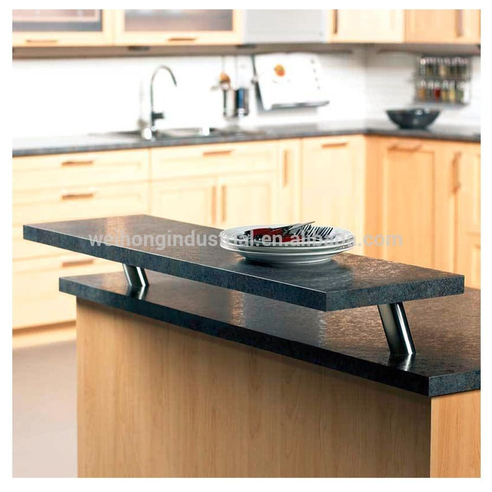 Raised Breakfast Bar Support For Solid Tops Countertop Support