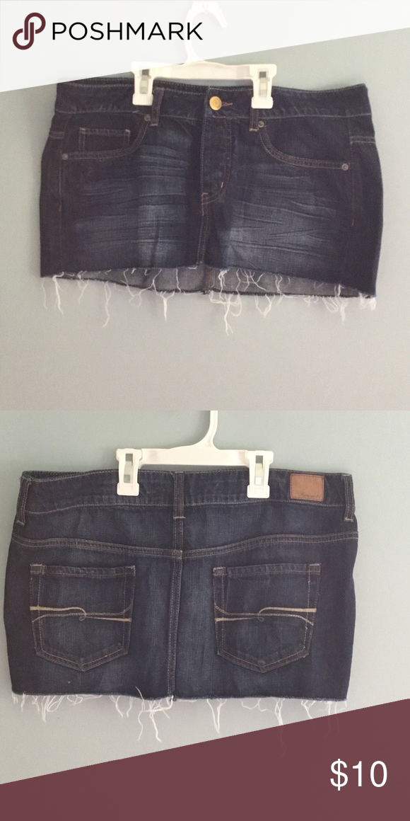 Jean skirt Jean skirt in great condition Forever 21 Skirts Mini
