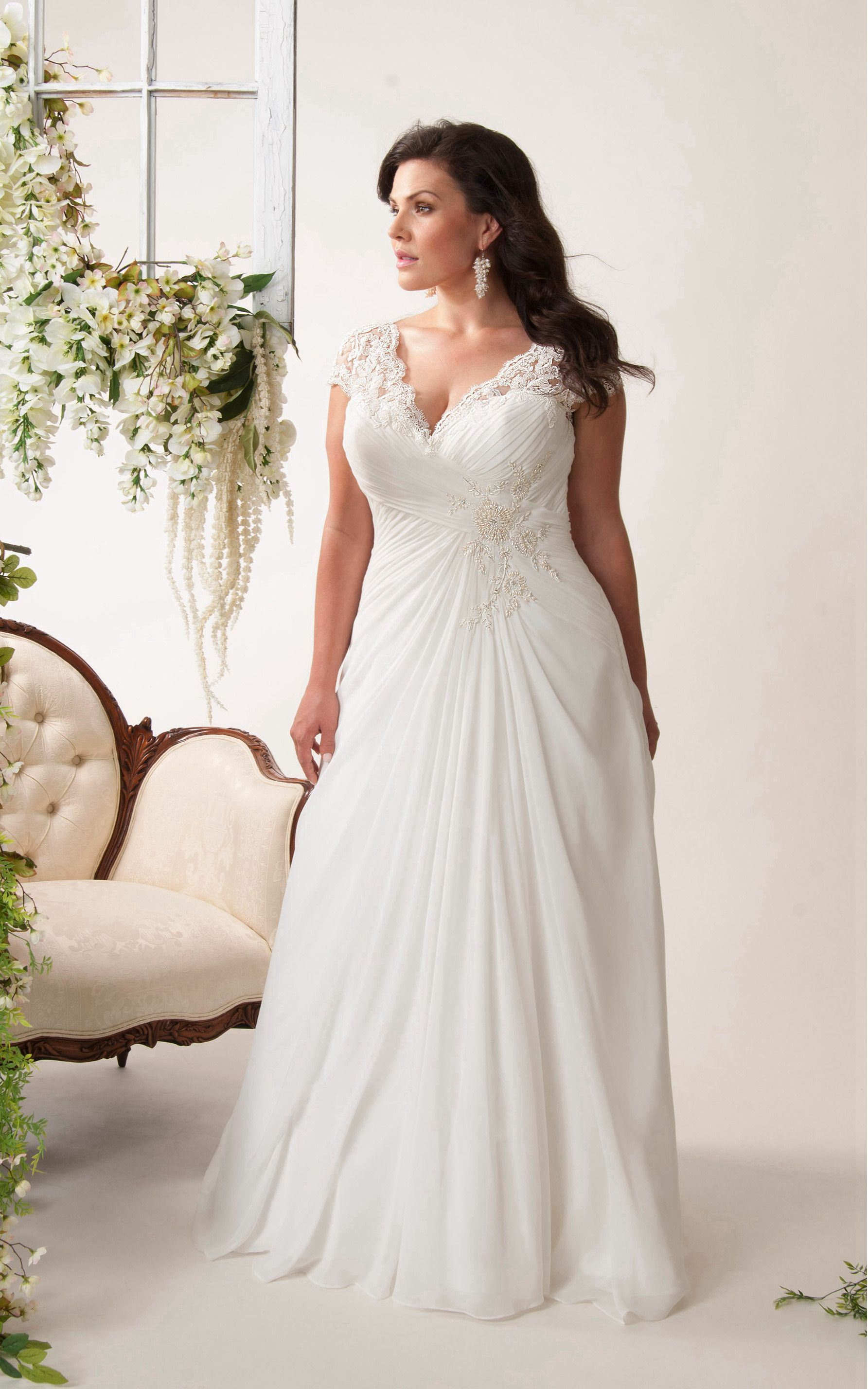 Pin On Affordable Plus Size Wedding Dress [ 2856 x 1785 Pixel ]
