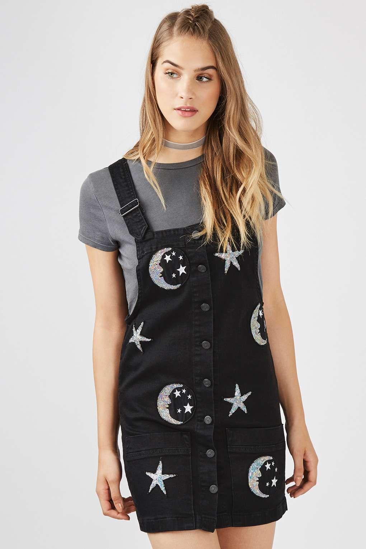 94a644142794 Sequin Astro Denim Dress by Kuccia | shopping list | Dresses ...