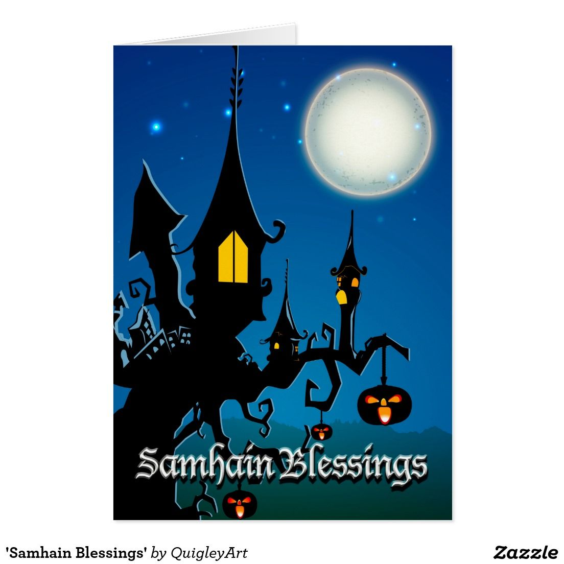 Samhain blessings card wicca pinterest wicca samhain and cards samhain blessings greeting card m4hsunfo