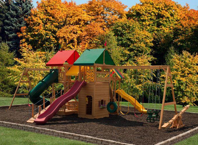the 818 backyard wonder kids swing set let your backyard become your favorite