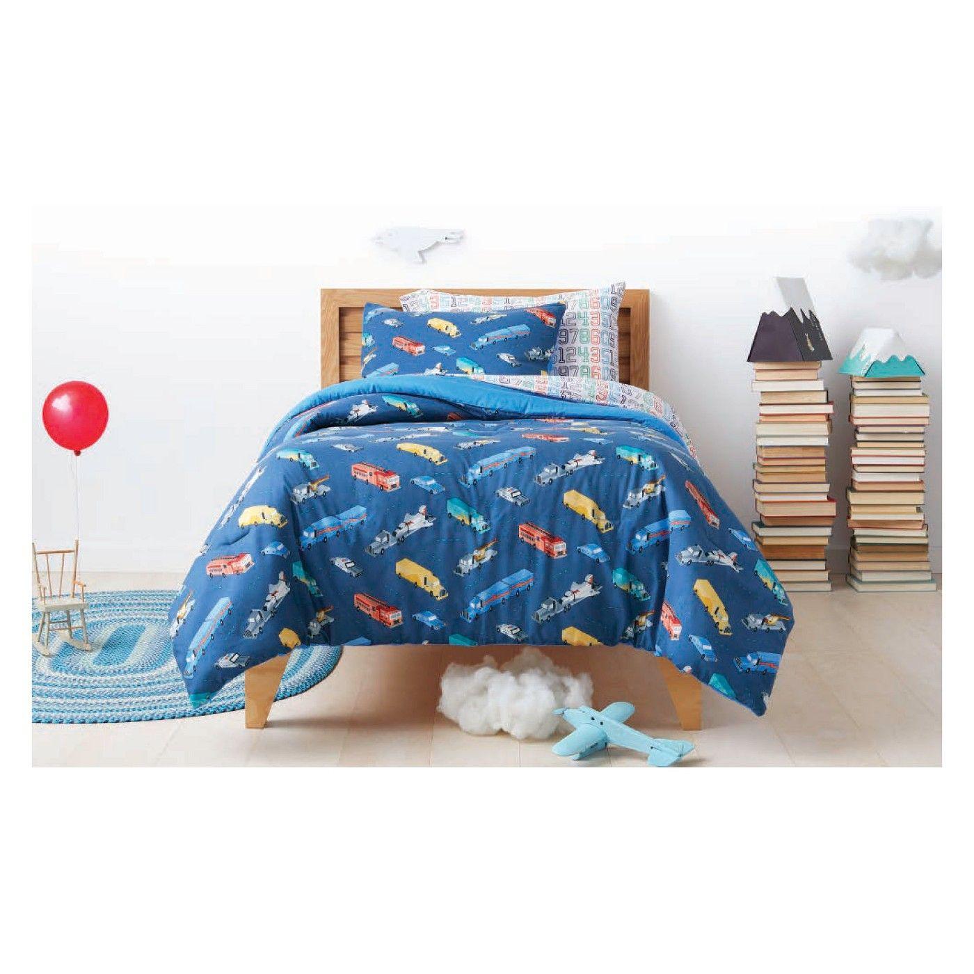 Transportation Comforter Set Pillowfort™ image 1 of 1