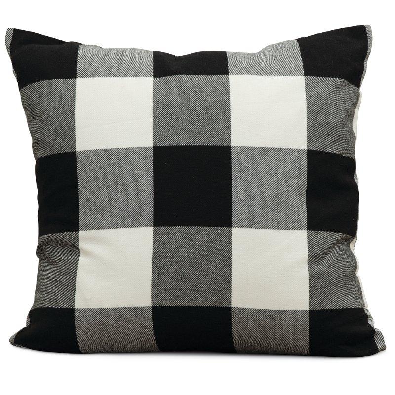 Best Black And White Buffalo Plaid Throw Pillow Plaid Throw 400 x 300