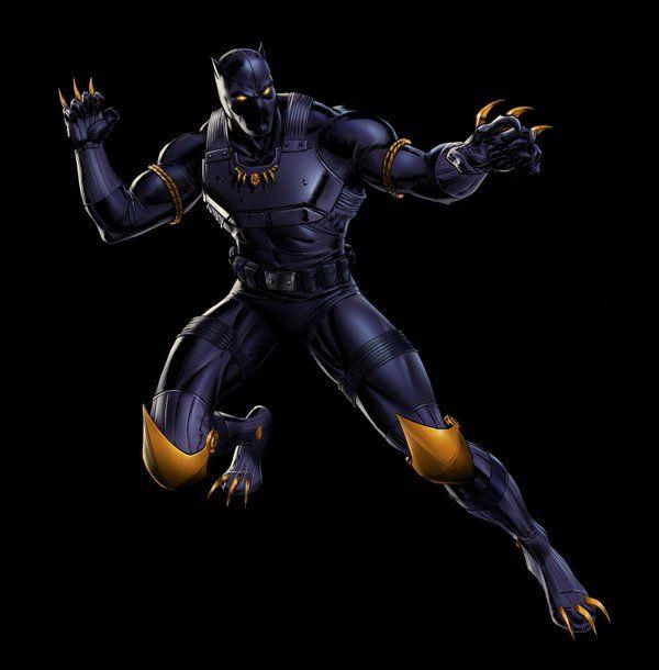 Bien-aimé Black Panther (alternate costumes) #Marvel: Avengers Alliance  QM79