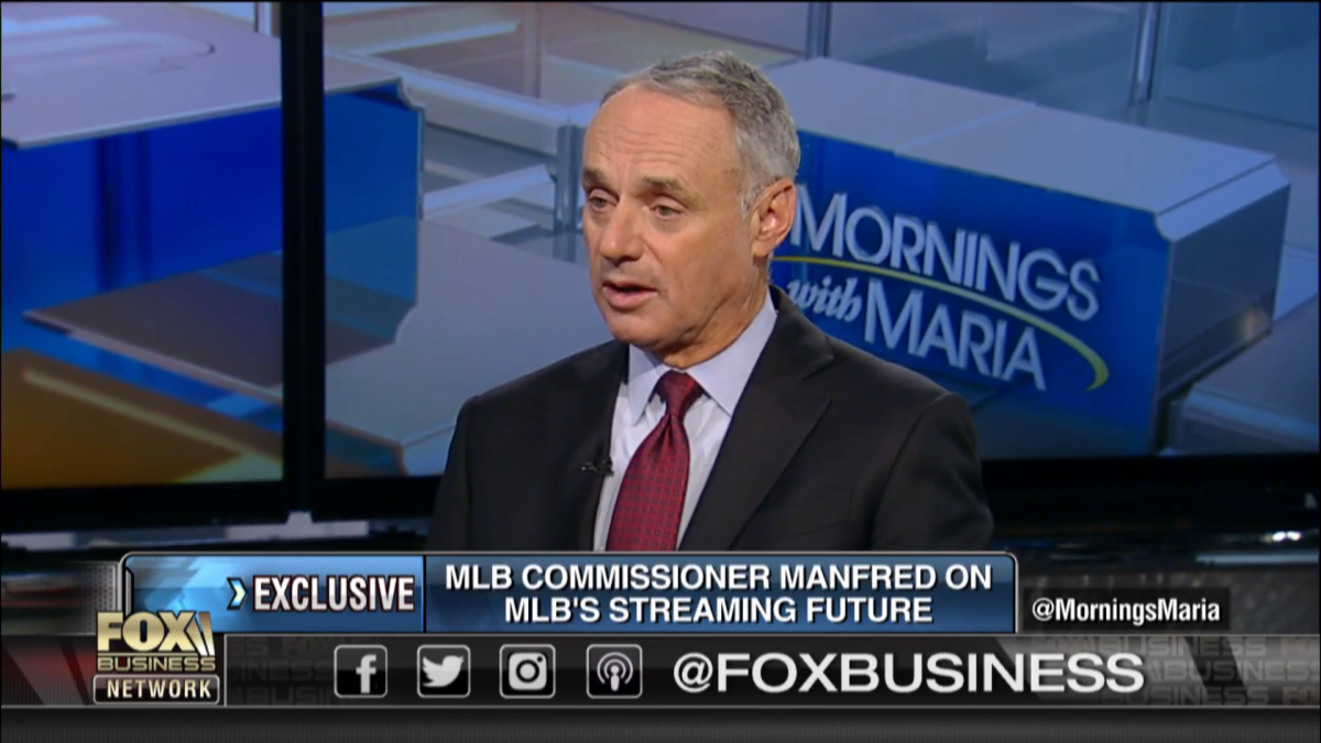 Mlb Commissioner On Fox Rsns We Re Interested Manfred Tells Fox Business That Mlb Could Be In Hunt For 22 Regional S Business News Information Mlb