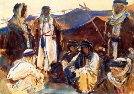 Bedouin Camp by John Singer Sargent