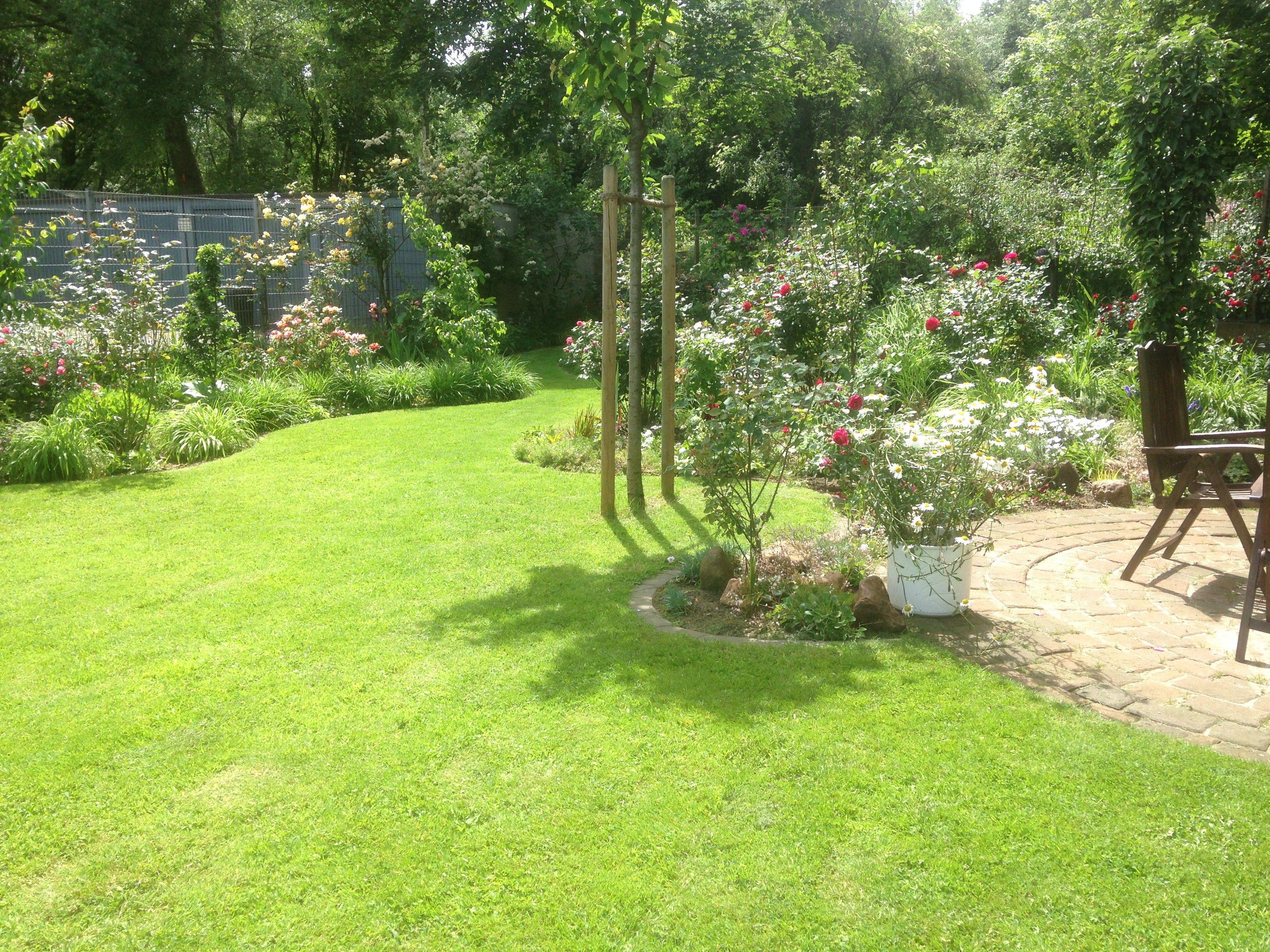 Wunderbar Pflegeleichter Garten Ohne Rasen Foto Von Rasenkantensteine Leicht Und Einfach Verlegen / Pflanzbeete