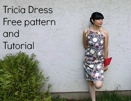 Tricia Dress Pattern - On the Cutting Floor: Printable pdf sewing ...