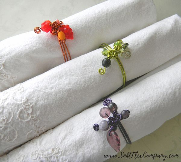 4 Beaded Napkin Ring Ideas For Your Next Holiday Dinner