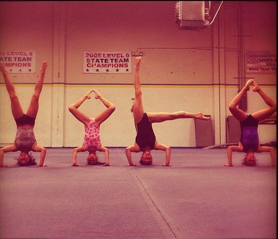 Gymnastics Yolo Ginastica Foto Criativas Fotos