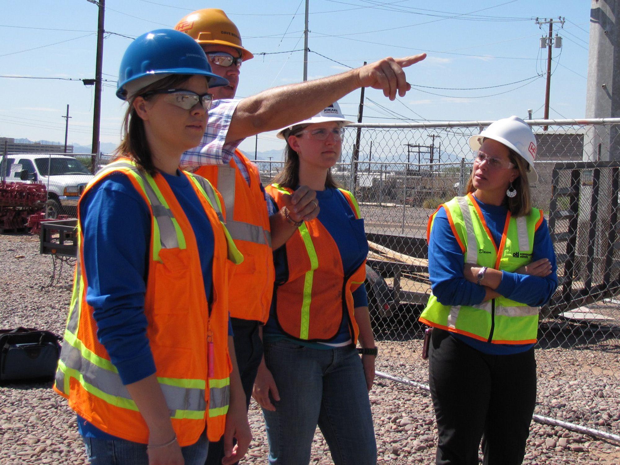 Partnership prepares women for top jobs in construction