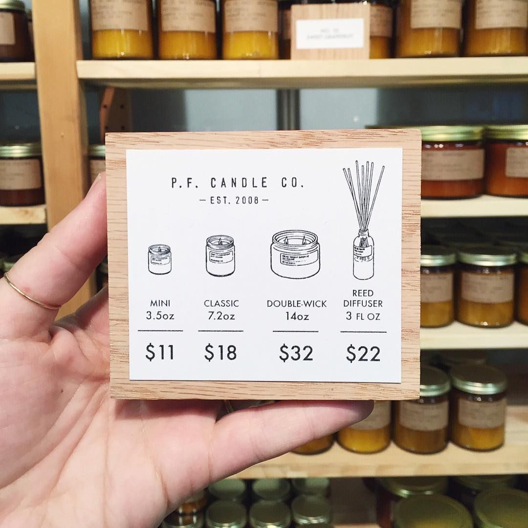 Pommes Frites Candle Co On Instagram We Ve Got Candles And Diffusers We Ll Be At Uniquemarkets Until 6p Price Signage Candle Making Recipes Candle Labels