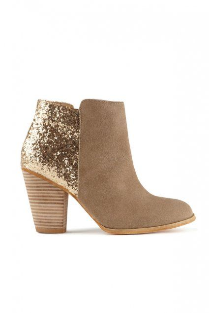 Glitter Boots Aldo. Its names Chelsea because i love sparkle :) I bet they were thinking of me hha