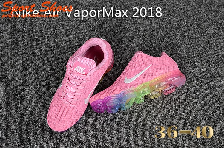 buy popular dea58 a9e08 Nike air VaporMax 2018 KPU Fashion Womens Sneakers Pink ...