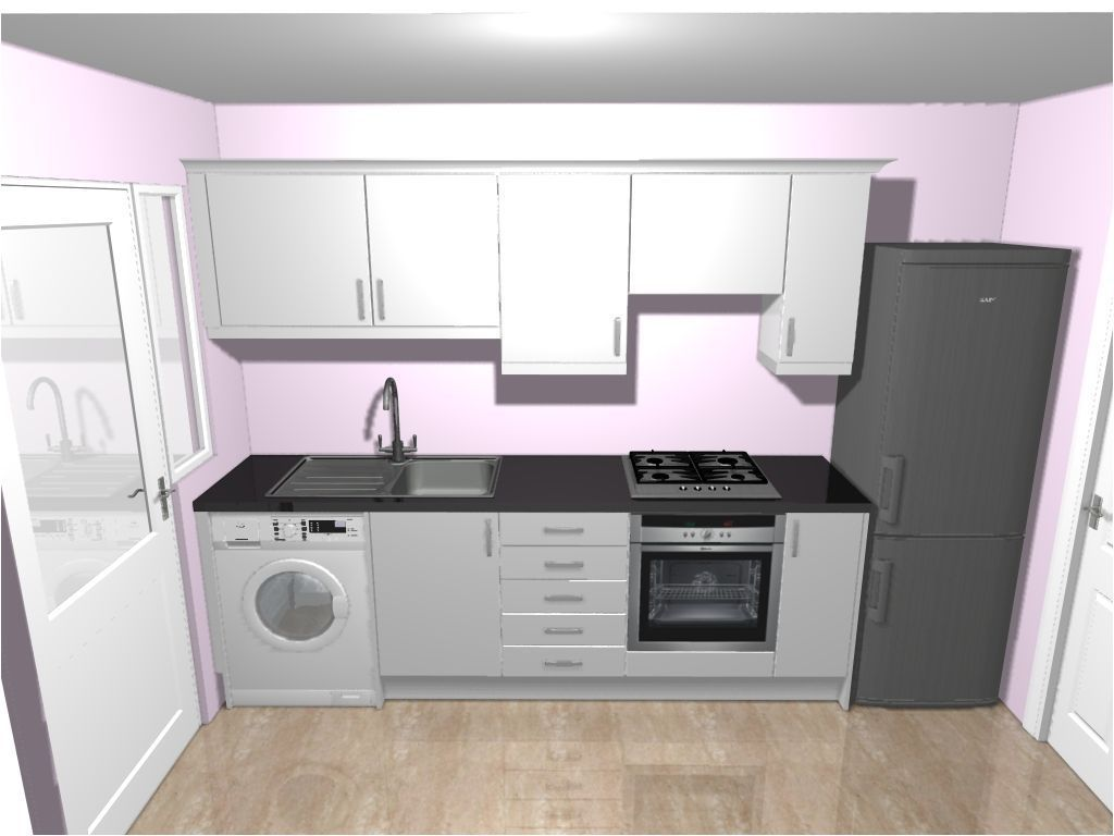 15+ Ideal 80s Kitchen Remodel Money Ideas #whitegalleykitchens