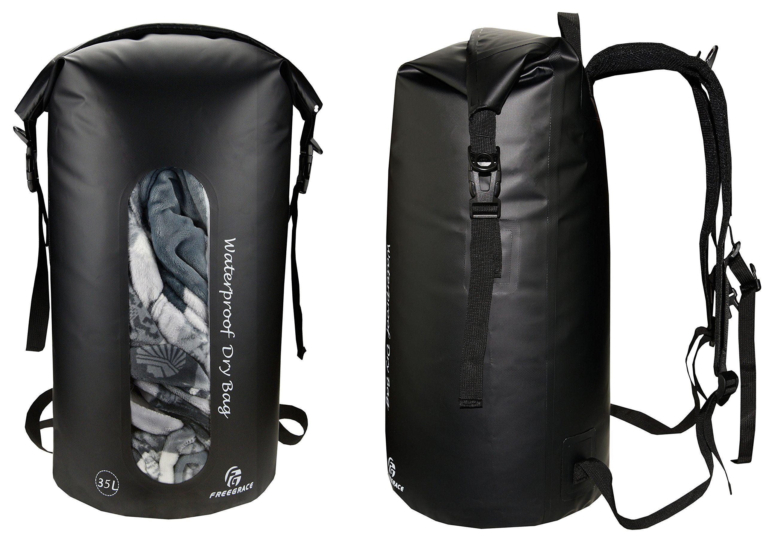 Canoe Storage ** Freegrace Waterproof Dry Bags Set Of 3 By