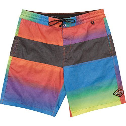 Shorts · Introducing Billabong Mens Tribong ReIssue Faded Lo Tides Stretch Boardshort  Neon ...