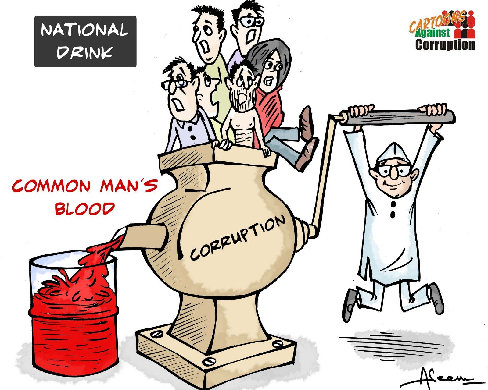 Cartoonist Aseem Trivedi Charged With Treason And