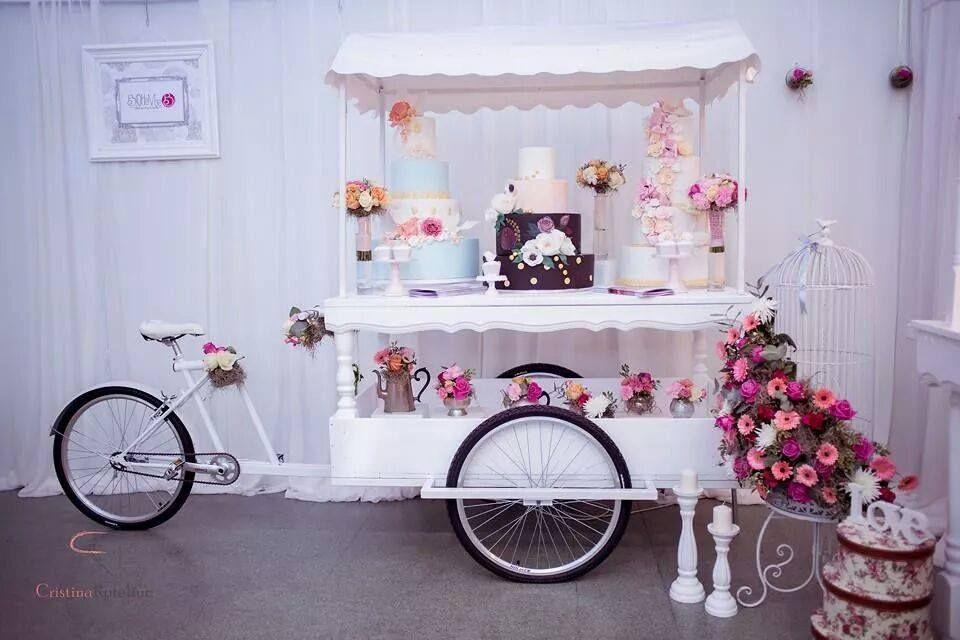 Wedding Bike Cargobike Candy Bar Bar