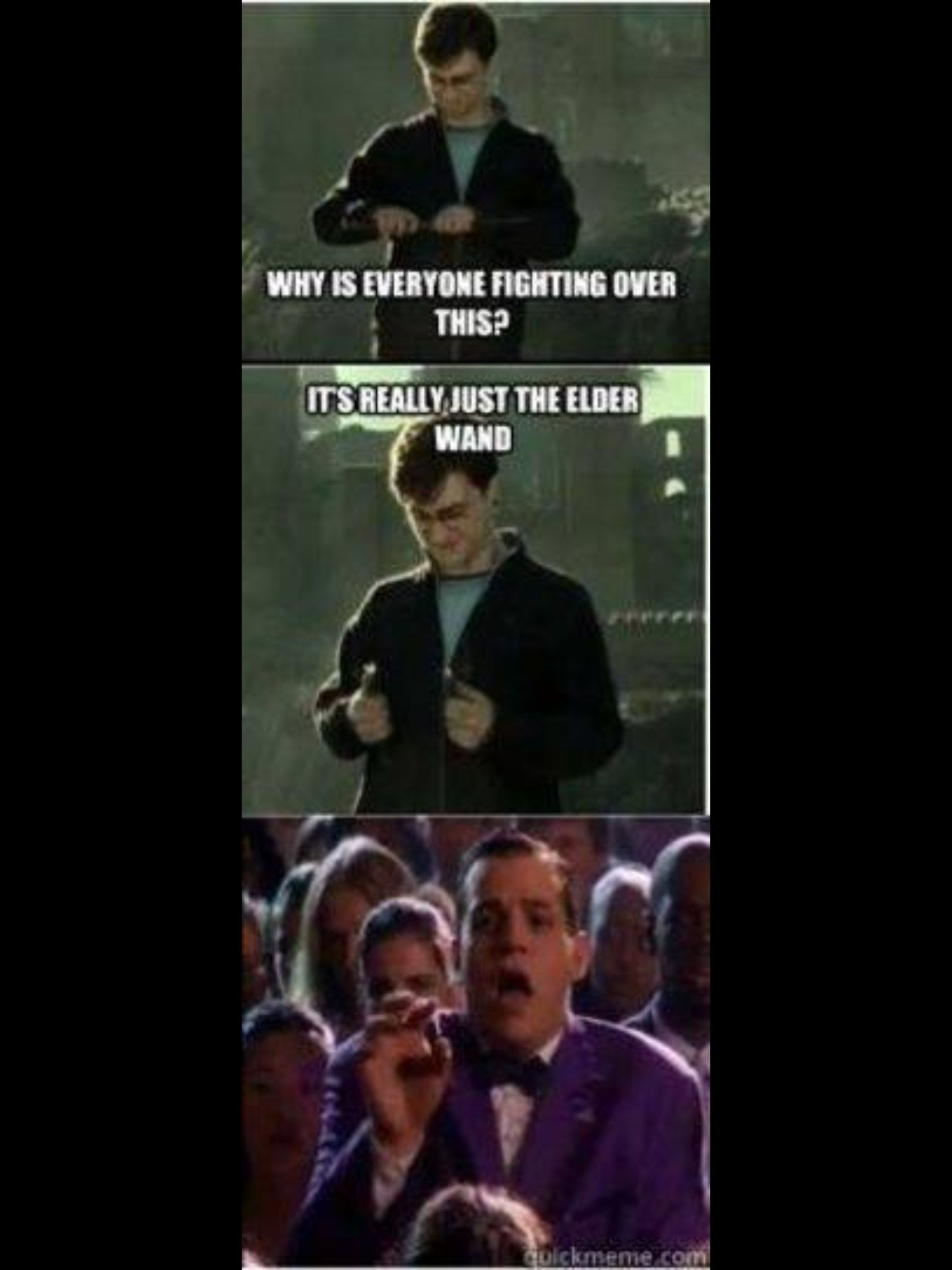 It S Just The Elder Wand Harry Potter Funny Harry Potter Memes Harry Potter Love