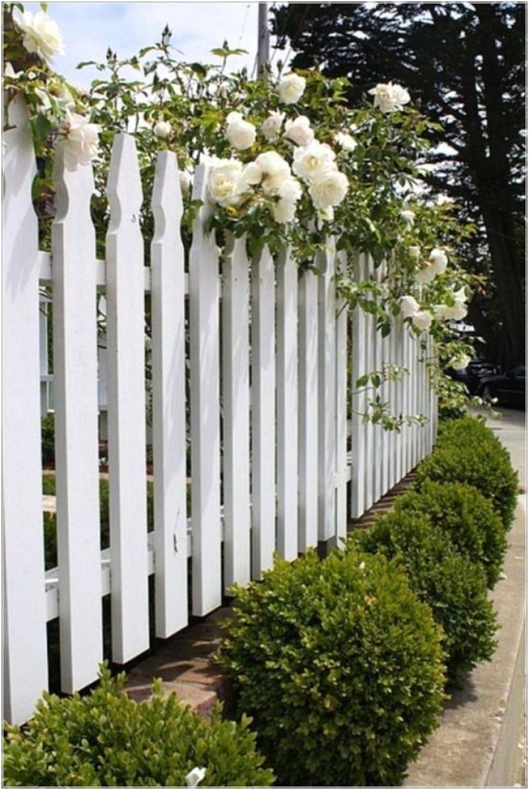 Gorgeous Backyard Landscaping Ideas Cloture Bois Cloture Blanche Barriere Bois Jardin