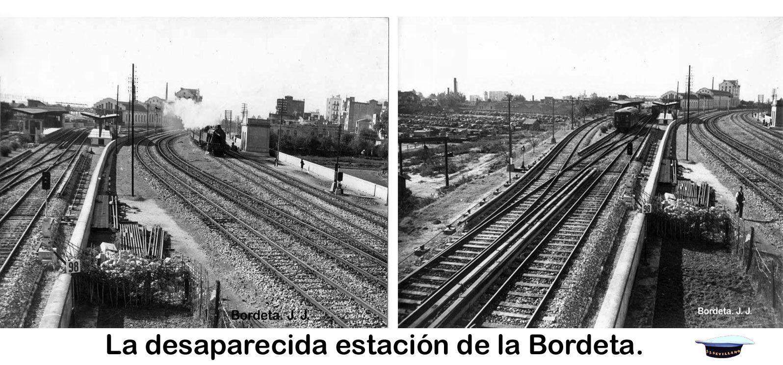 La Desaparecida Estación De La Bordeta Dirección Santa Eulália Más Adelante Los Talleres Y Oficinas Del Metro Estacionamiento Oficinas Taller