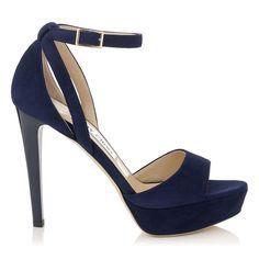 Decode The Dress Code Your Wedding Guest Outfit Cheat Sheet Navy Heeled Sandals Navy Blue High Heels Blue High Heels